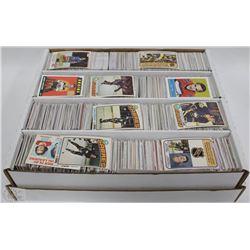 LOT OF OVER 3000+ ASSORTED HOCKEY CARDS INCL