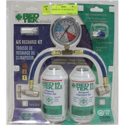 REDTEK 12A - A/C RECHARGE KIT