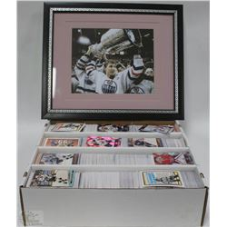 3000+ VARIOUS YEARS OF HOCKEY CARDS INCL GRETZKY