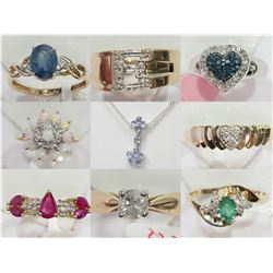 FEATURE LOTS 201-225 JEWELLERY
