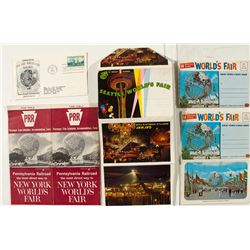 1965 New York World's Fair & 1962 Seattle Ephemera