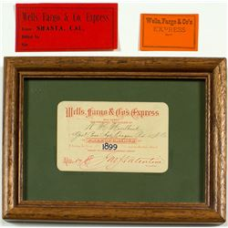 Wells Fargo Express Ephemera