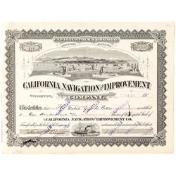 California Navigation and Improvement Company Stock
