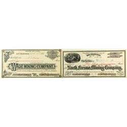 Two (Very) Early Fresno Stock Certificates