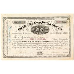 South Hite Gold Mining Company Stock
