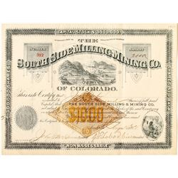 South Side Milling & Mining Company Stock Certificate