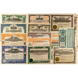 Colorado Oil Stock Certificate Collection