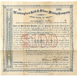 Waddingham Gold & Silver Mining Company Bond