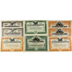 8 Ely stock certificates