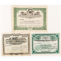 Oro Mining Stock Certificate lot