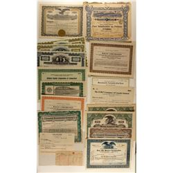 Auto Related Stock Certificates