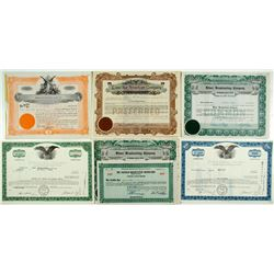 Broadcasting Company Stock Certificates Group