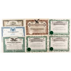 Motion Picture Stock Certificate Collection