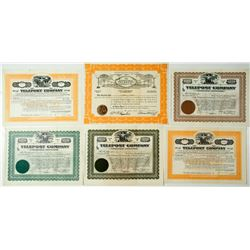 Telepost Stock Certificates Group