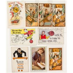 Humorous & Artistic Numismatic Postcards and Prints