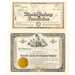 Two Stock Certificates