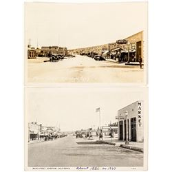 Main Street Photo Postcards