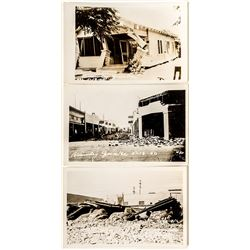 Real Photo Earthquake Postcards