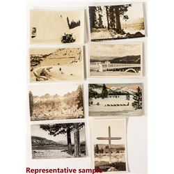 About 300 Donner Lake and Donner Summit Postcards