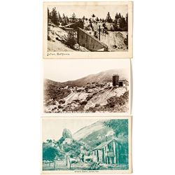 Three Mining Postcards from Julian