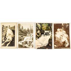 Lake Tahoe Waterfall Postcards