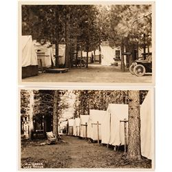 The Grove Campground Photo Postcards; Lake Tahoe
