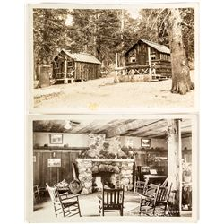 Mammoth Lakes Real Photo Postcards by Austin
