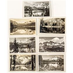 Mammoth Lakes Real Photo Postcards by Willard
