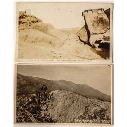 Ruins of St. Francis Dam/ Tahquitz Trail Postcard