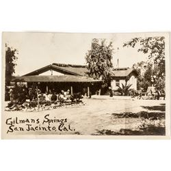 Real Photo Postcard Gilman Springs