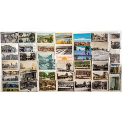 San Jacinto and Hot Springs Postcards