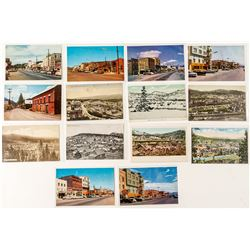 14 Truckee Postcards