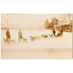 1922 Dog Sled Team RPC in Truckee, California