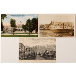 Main Street Upland Photo Postcard and others