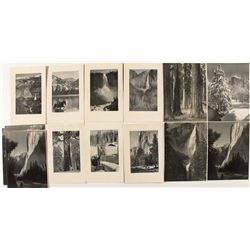 Ansel Adams Photos on Yosemite Menus