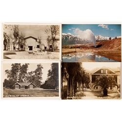 California Hot Springs Postcards