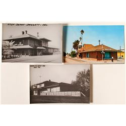 California Railroad Depot Photo Postcards