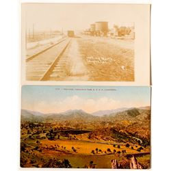 California Railroad Postcards
