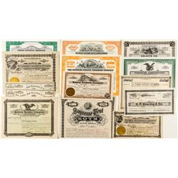 Northern California Stock Certificate Collection