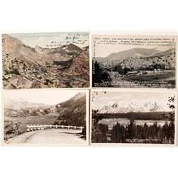 Scenic Sierra Nevada Postcards