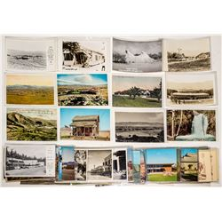 "Southern California Desert ""A"" / ""B"" Towns Postcards"