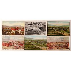 Colorado Springs View Postcards