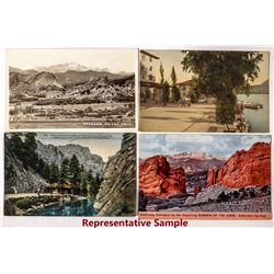 Scenic Colorado Springs Postcards