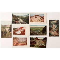Cripple Creek Railroad Postcards