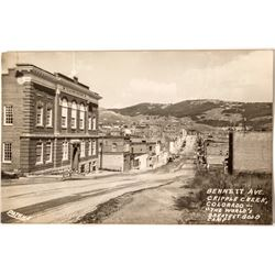 Cripple Creek Real Photo Postcards by Patrick
