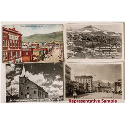 Cripple Creek Street Views Postcards