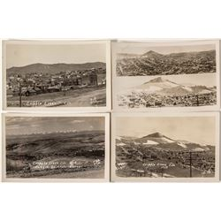 Four Cripple Creek Photo Postcards