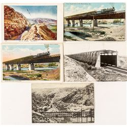 Wyoming Railroad Postcards