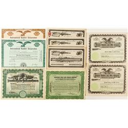 Foreign Lumber Stock Certificates