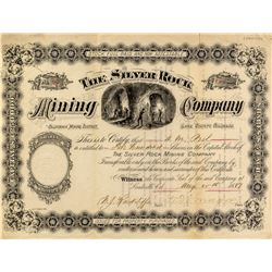 The Silver Rock Mining Company Stock Certificate